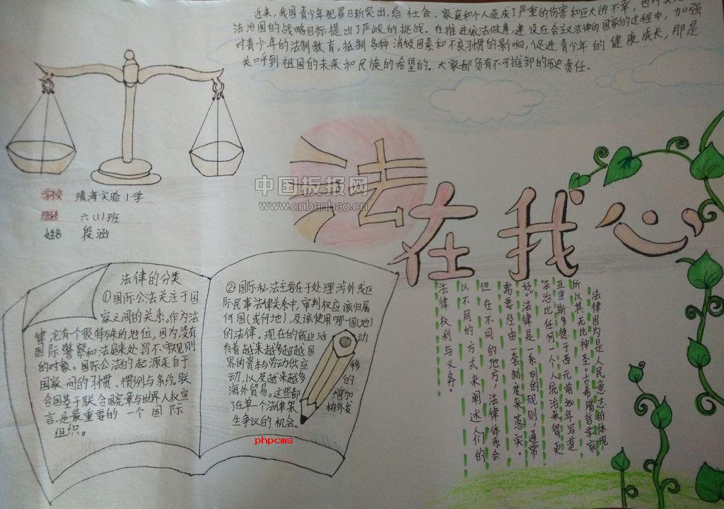 国家宪法日手抄报图片大全