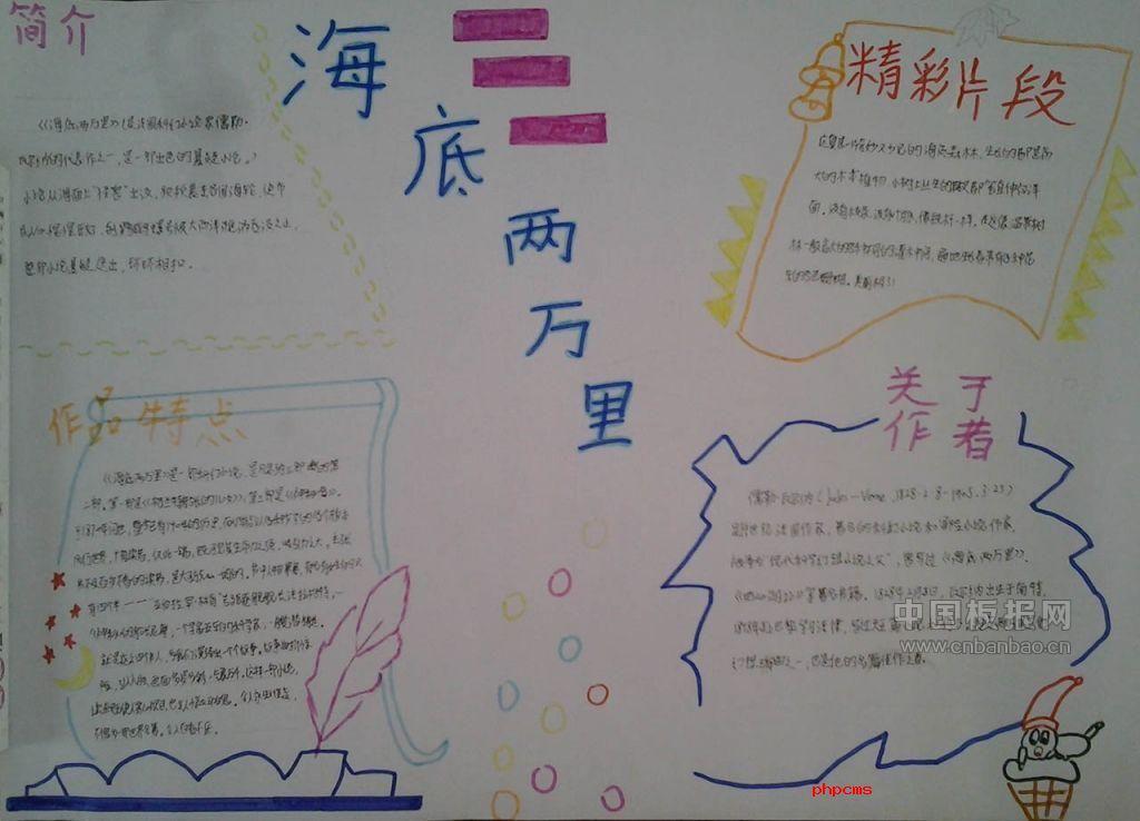 中学语文名著手抄报大全