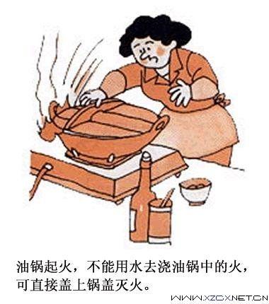 消防漫画图片