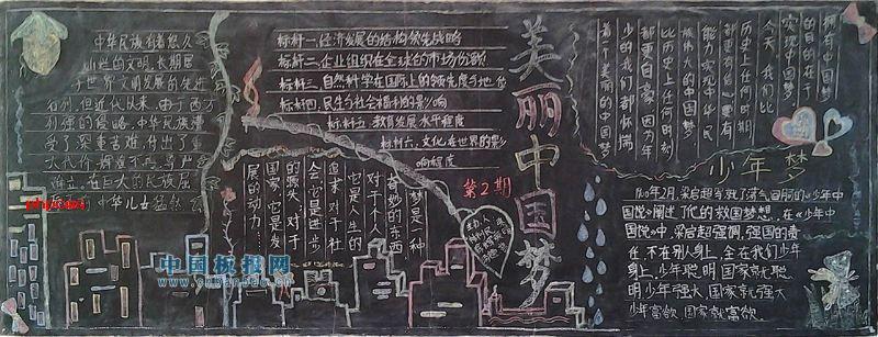 关于中国梦的手抄报图片小学三年级漂亮一点的中国梦,承载着中国民