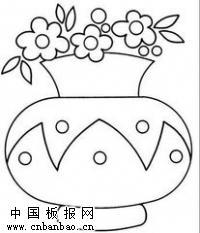 花瓶简笔画大全