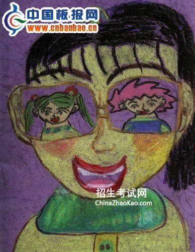 教师节绘画作品图片