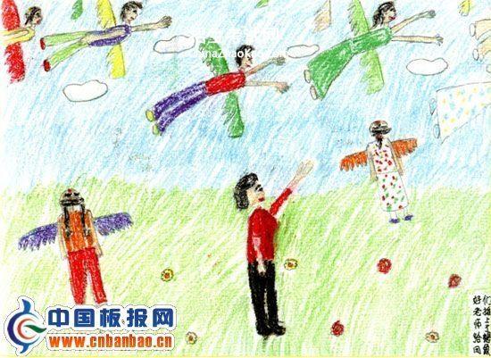 庆祝教师节绘画作品