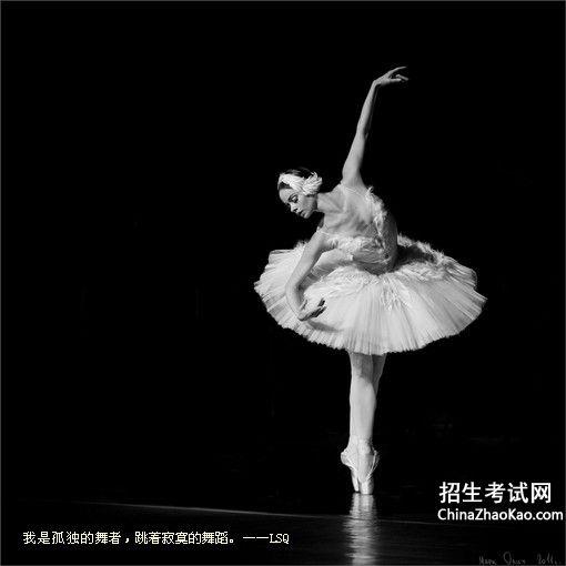 描写舞者优美舞蹈的一段文字