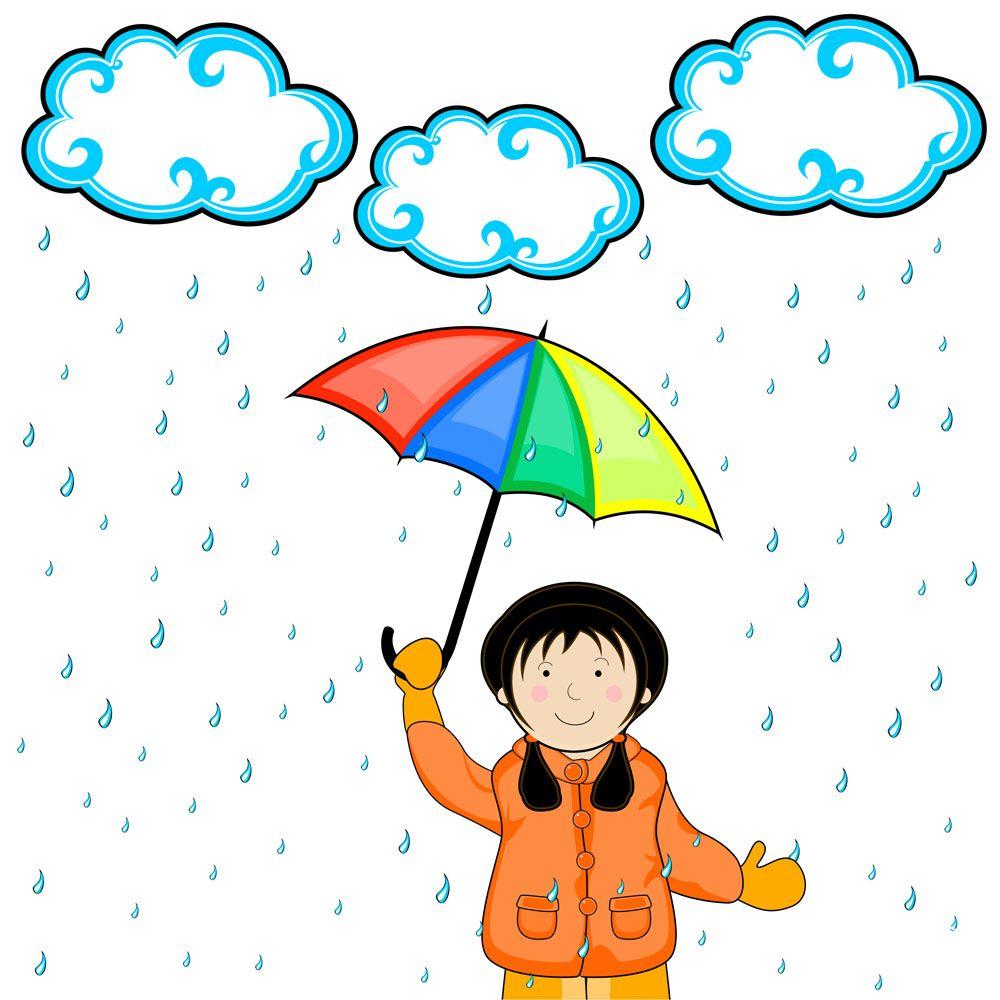 下雨打雷的心情说说