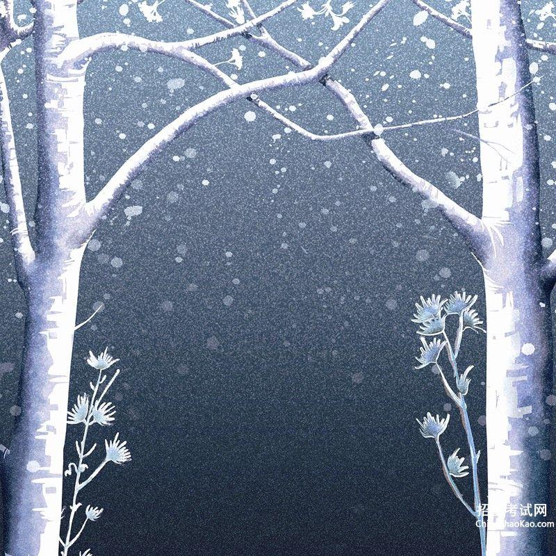 【描写冬天的段落20字】