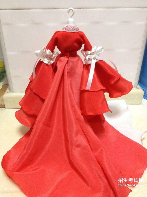 芭比娃娃衣服怎么做_怎么做芭比娃娃的古装