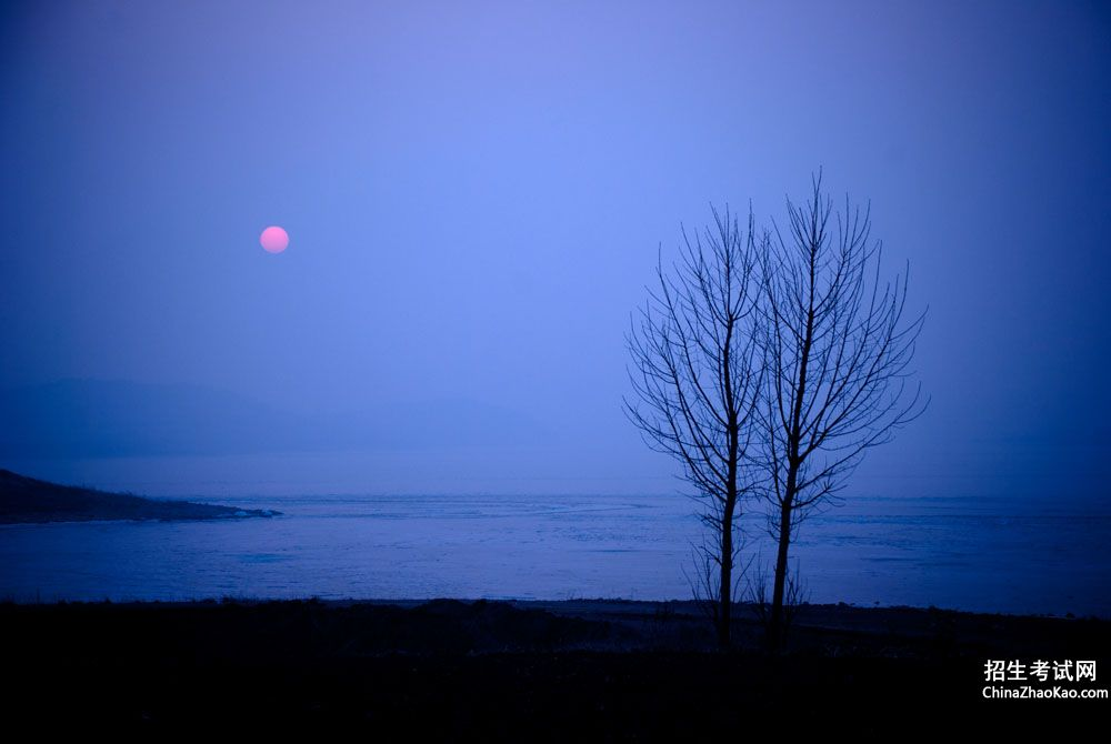 落日晚霞的诗句