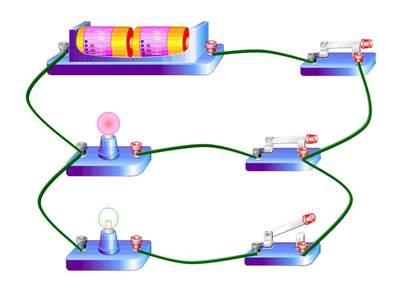 5、会读、会画简单的电路图,能连接、判断简单的串并联电路.-九年图片