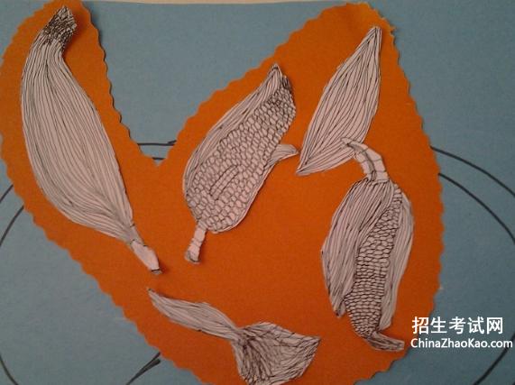 中班绘画教案 玉米