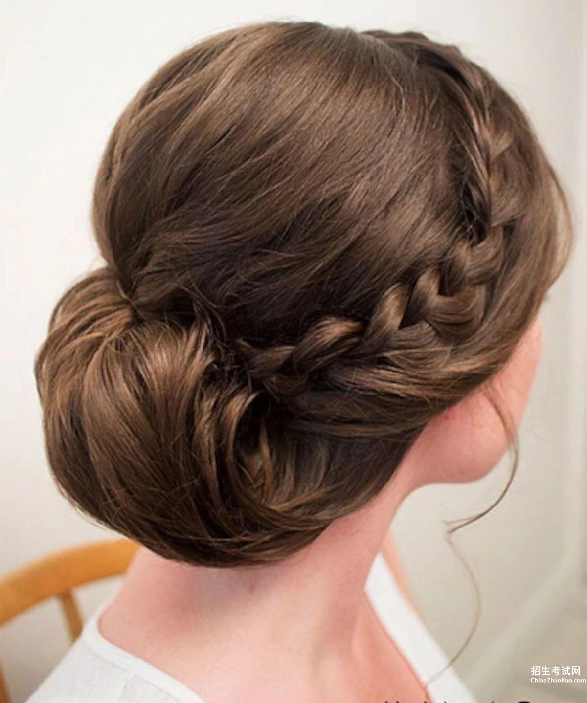 新娘头发造型图片步骤
