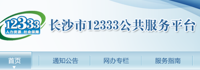 12333长沙,长沙市12333公共服务平台