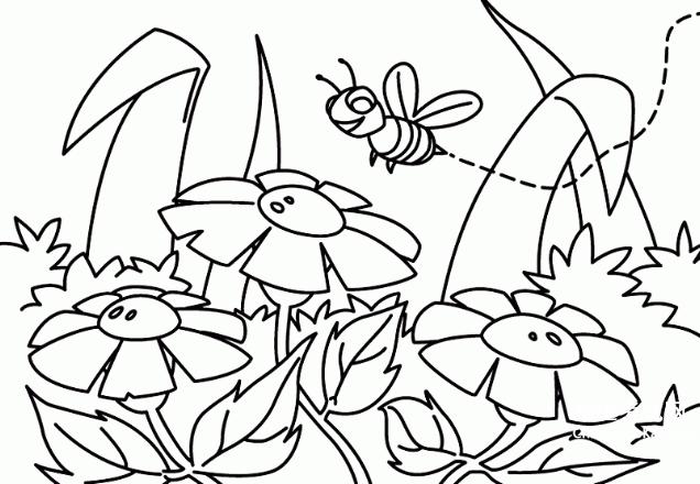 com 小编今天为大家精心准备了春天图片景色简笔画 春天的风景图片