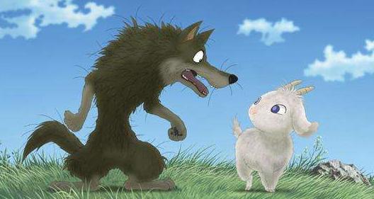 [狼和羊的故事告诉我们什么道理]狼和羊的故事