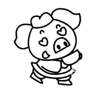 [唐僧简笔画]猪八戒简笔画