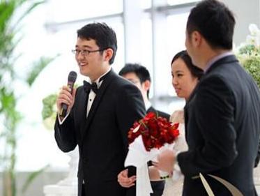 【婚礼证婚人讲话稿】证婚人讲话稿