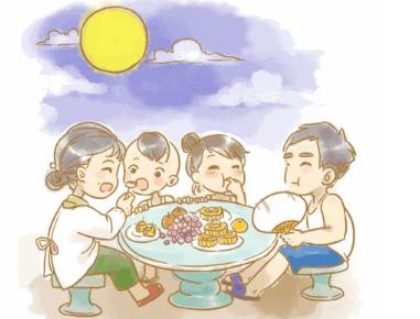 日记中秋节 小学生日记过中秋节