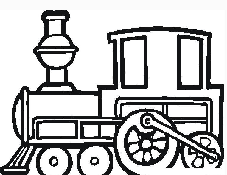 简单漂亮|火车的简笔画图片大全_儿童火车简笔画图片
